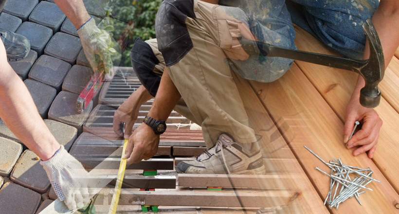 RB Painting Plus Services - Decks and Outdoor Living Space