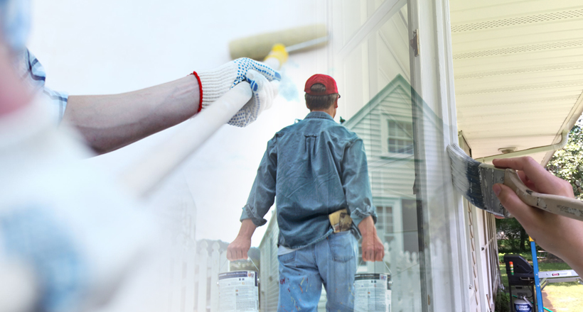 RB Painting Plus Services - Exterior Painting