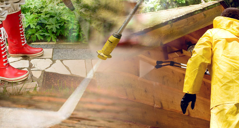 RB Painting Plus Services - Power Washing