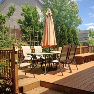 decks outdoor living space